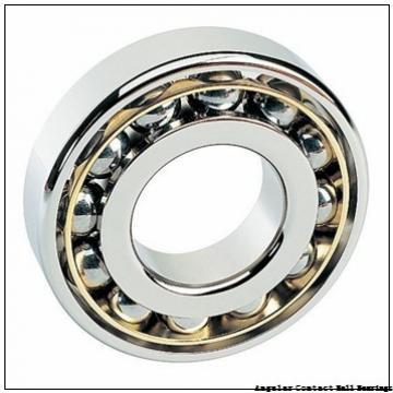 0.669 Inch | 17 Millimeter x 1.575 Inch | 40 Millimeter x 0.689 Inch | 17.5 Millimeter  EBC 5203  Angular Contact Ball Bearings